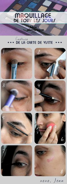 Maquillage// Everyday make-up - www.bleuelectrique.fr