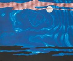 Roy Lichtenstein (American, 1923–1997) Moonscape (from 11 Pop Artists I), 1965