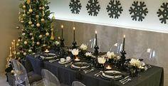 mesas adornadas de navidad - Buscar con Google