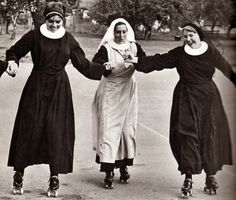vintage everyday: Nuns Nuns Nuns! 25 Pictures of Nuns Having Fun from the 1950s and 1960s