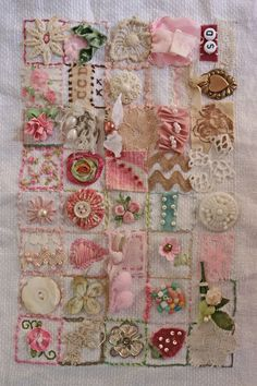 the little tied off ribbon 39 squares: another version