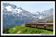 The White Pass & Yukon Route Railway Tour in Alaska.