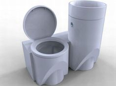 Seven water saving toilets with
