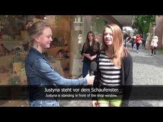 German Prepositions: in, an, auf, unter, über, vor, hinter, neben, zwischen (subtitled)