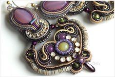 Soutache Earrings, Bracelets, Jewellery, Couture, Fashion, Beading, Earrings, Moda, Jewels