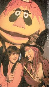 H.R. Pufnstuf!  Do you remember Jimmy, Freddy the flute, cling and clang and who can forget Witchiepoo?  I can still sing all the lyrics to the theme song after all these years.