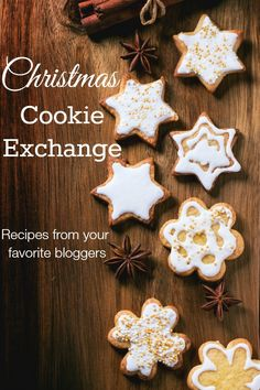 Christmas Cookie Recipes from your favorite bloggers! Simple to fancy, tradition to new, these cookies will quickly become a tradition in your home. Pin to your Christmas Board!