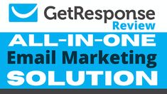 GetResponse Review   Get Response Pricing - All-in-One Email Marketing Solution Email Marketing Campaign, Email Marketing Services, Online Marketing Strategies, Marketing Software, Internet Marketing, Digital Marketing, Text Message Marketing, Marketing Automation, App