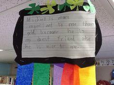 First Class Teacher: St. Patrick's Day Writing Craftivity {FREEBIE}