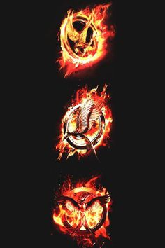 Hunger Games. Catching Fire. Mockingjay.