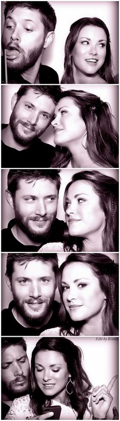 If people don't believe Jensen and Danneel love each other, please direct them to this photo shoot. Ugh. So pretty. Boys and Girls Club Gaga Photo Shoot edit by Krista