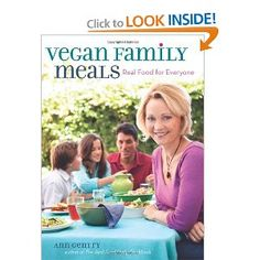 Vegan Family Meals by Ann Gentry was a Christmas gift from my hubby....loved the French Onion Soup!
