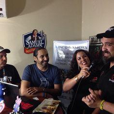 Mil gracias #Superbar por dejarnos hacer el podcast y @esportspr por darnos info exclusiva! #FA2015 #caro #gaming #gamers