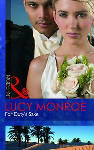 For Duty's Sake (Mills & Boon Modern), Monroe, Lucy, Good Book for GBP0.99 #Books #Comics #Magazines #Monroe  Like the For Duty's Sake (Mills & Boon Modern), Monroe, Lucy, Good Book? Get it at GBP0.99!