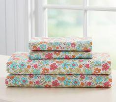 Jenni Kayne Floral Sheet Set Pottery Barn