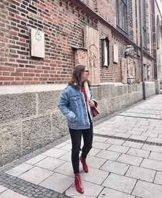 Winter Wardrobe, Munich, Pretty Little, Winter Outfits, Winter Fashion, That Look, Sunday, Denim, Fashion Bloggers
