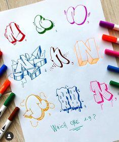 Grafitti Letters, Graffiti Alphabet Styles, Graffiti Lettering Alphabet, Graffiti Text, Graffiti Tagging, Graffiti Drawing, Street Art Graffiti, Calligraphy Alphabet, Islamic Calligraphy