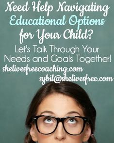 Affordable coaching and consulting options for parents and businesses with questions on educational best practices. As a licensed school counselor, Sybil Brun is now working with people from all over the world via telephone, skype, and email. If you are considering homeschooling, or just need someone to walk alongside you as you navigate any and all educational options for your child(ren), I would love to be of service!