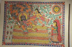 Madhubani Art Painting  India