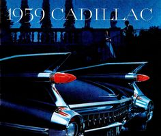 1959 Cadillac Brochure...this automobile was truly a piece of design excellence.