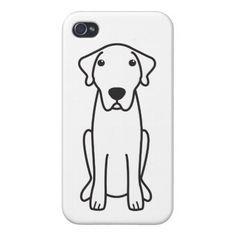 Anatolian Shepherd Dog Cartoon iPhone 4 Covers