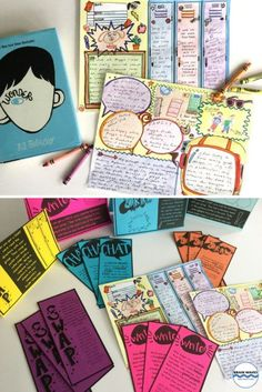 Wonder doodle notes! Wonder activities for the classroom that are