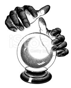 fortune teller's hands with crystal ball - Google Search