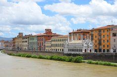 Lungarno, Pisa  www.arttrip.it/pisa/