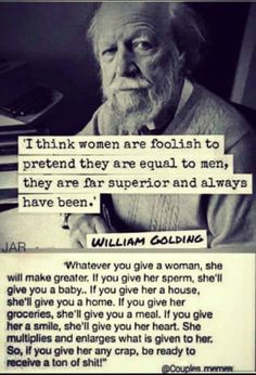 Discover amazing things and connect with passionate people. William Golding, Just Me, Quote Of The Day, Equality, Einstein, Quotes, Men, Instagram, Daily Makeup