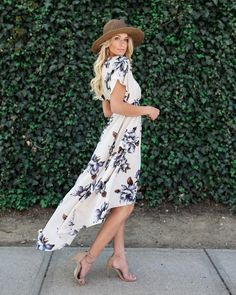 Blue Bonnet Maxi Dress