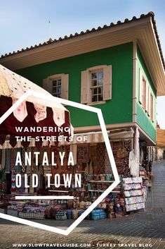 Wandering the streets of Antalya Old Town or is unquestionably one of the must-see things in Antalya. Because it is charming, picturesque, colorful, and it shows you a completely different Antalya than it's modern counterpart. Turkey Destinations, Holiday Destinations, Travel Destinations, Turkey Vacation, Turkey Travel, Travel Articles, Culture Travel, Old Town, Day Trips