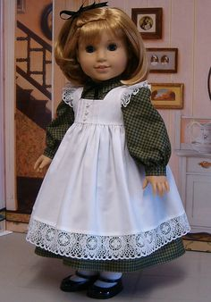 From the Keeper's Archives: long sleeved frock with Apron/Pinafore