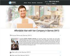 Man with Van Barnes London