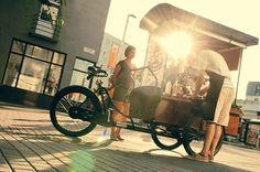 #coffee #cart #tricycle #Bratislava #barista https://www.facebook.com/pankralicek.sk