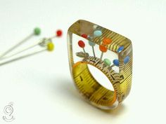 Awesome resin ring
