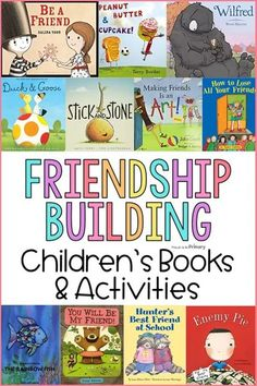 Friendship-building activities help children in K-3 develop strong social skills. When relationships are an important factor in education, kids succeed in school and life. Social Emotional Development, Social Emotional Learning, Social Skills, Kindergarten Activities, Book Activities, Kindergarten Classroom, Respect Activities, Kindness Activities, Elementary School Library
