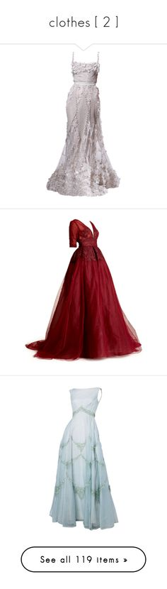 """""""clothes [ 2 ]"""" by amyburns567 ❤ liked on Polyvore featuring dresses, gowns, long dresses, elie saab, elie saab ball gown, elie saab dresses, elie saab gowns, satinee, dennis basso and long red dress"""