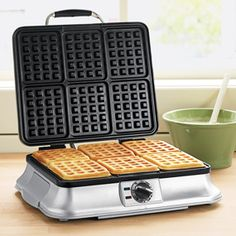 Planning to purchase a brand new waffle maker? throwingwaffles.com/ is a great source of information about everything related to waffles. Best waffle irons on the market ranked.