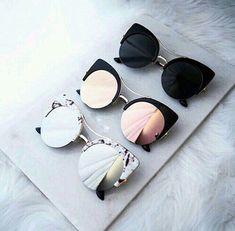 Populares, Óculos De Sol Feminino, Óculos Feminino, Oculos Preto, Óculos  Aviador, c18106bbe9