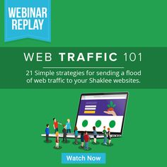 #Shaklee | WEBINAR REPLAY IS NOW ARCHIVED!  Hi everyone! For those who have missed the Web Traffic 101 webinar, here's where you'll find the replay:  We still have our next webinar tonight at 11am ET! To join the webinar, register here:  Here's what the webinar covers: - How to get more out of your groups - Ad strategies and which w... https://www.yourfreedomproject.com/training-center/web-traffic-101 https://www.yourf…