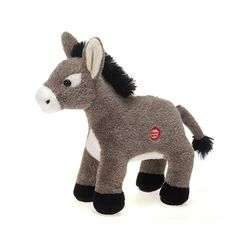 4864ab51245 Amazon.com  Dominic the Donkey with Sound Plush Stuffed Animal Toy by Fiesta  Toys
