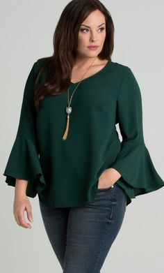 Cute Spring Blouses Women Plus Size To Look Small 23 Plus Size Work, Plus Size Jeans, Plus Size Blouses, Plus Size Dresses, Plus Size Outfits, Plus Size Fashion For Women, Plus Size Womens Clothing, Mode Outfits, Fashion Outfits