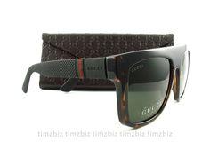 329.00$  Watch now - http://vioio.justgood.pw/vig/item.php?t=cwapf6958572 - New Gucci Sunglasses GG 1116/S Havana Black M1W1E Authentic 329.00$