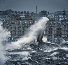 Waves on the Isle of Man