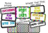 Polka Dot Behavior Chart product from Teaching-in-Flip-Flops on TeachersNotebook.com
