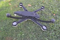 Interesante: Review del Flying 3D X8, un quadcoptero de grandes alturas