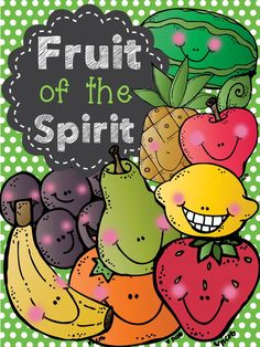 Enjoy this fun way to teach your students more about the Bible. This mini unit will help your students learn about the Fruit of the Spirit found in Galatians 5:22-23 The fun activities will reinforce the material taught.    Kids will love the fun/cute graphics and activities.