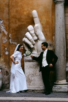 Steve McCurry :: Two by Two / Rome, Italy