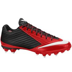 Nike Men s Vapor Speed TD Football Cleat - Game Red Black ae4a2519e3843