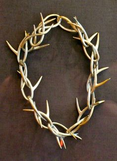 Thorn Necklace by Ted Meuhling, 1984: Silver and coral
